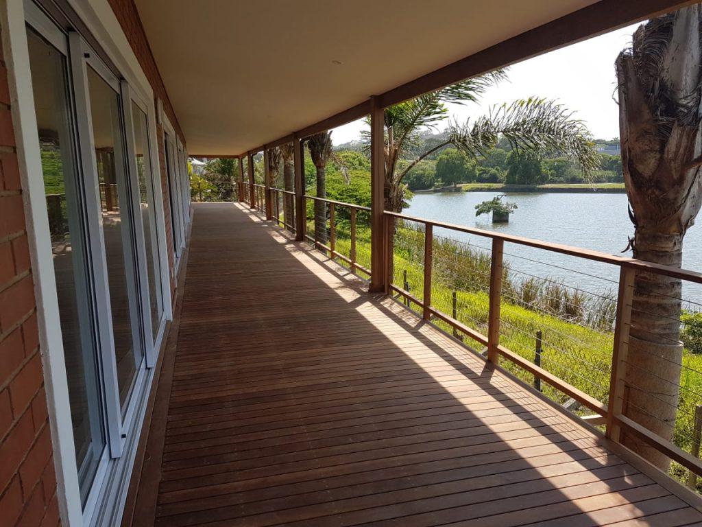 Deck corridor